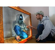 Mirror man  Photographic Print