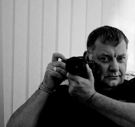 Behind The Camera by John Hare