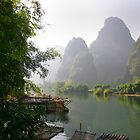 Li River, China  Subject: fine art, landscape by fotinos