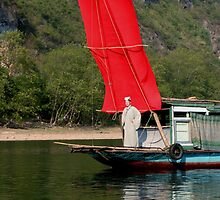 RED Sail Fine Art - Li River, China by fotinos