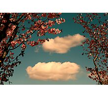 April Clouds Photographic Print