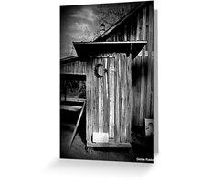 Necessity at Carrabelle Greeting Card