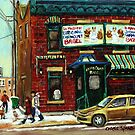 FAIRMOUNT BAGEL by Carole  Spandau