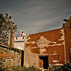 Purina Tower and Old Warehouse, Fredericksburg, Virginia by Stephen Graham
