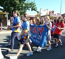 Darley girls marching by MarshEvents