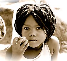 Gorgeous little tomato seller......... by Gigi Guimbeau