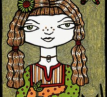 Helena (The Herbalist) by Anita Inverarity