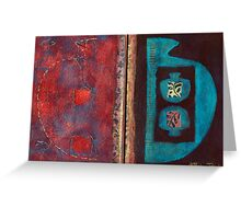 Synthesis (Artist Book - pp5&6) Greeting Card