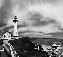 Pigeon Point Lighthouse by Surentharan Murthi
