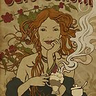 Artnouveau Coffee poster by kiko