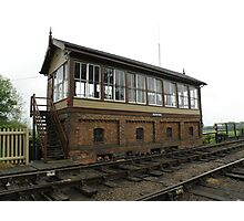 Wansford Signal Box Photographic Print