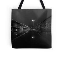 A Street At Night Tote Bag