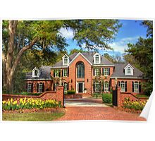 Beautiful house in SC Poster