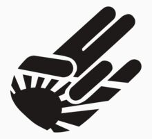 "Black Rising Sun ""Shocker"" Japanese Hand Gestures by avdesigns"