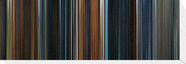 Moviebarcode: The Lord of the Rings: The Fellowship of the Ring (2001) by moviebarcode