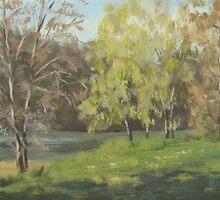 River Forks Spring 2 by Karen Ilari