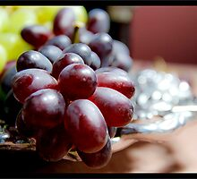 Italian Still Life-Grapes by 1illustlady
