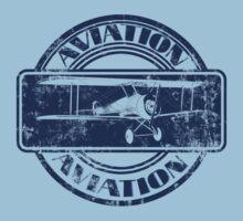 Vintage Aviation Badge by Packrat