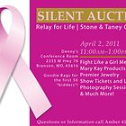 Silent Auction Invite by Danielle Cardenas