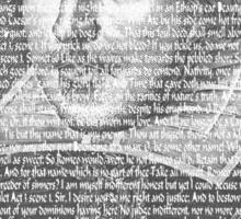 Shakespeare Quotes Sticker