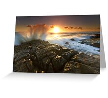 The Sea Is Mighty Greeting Card