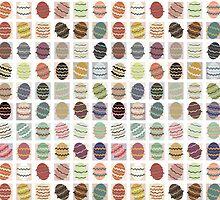 Pattern 6: eastereggs by Sanne Thijs
