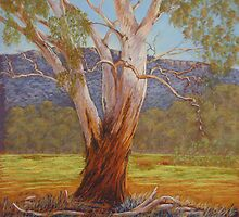 Megalong Majesty - Pastel by Alison Murphy