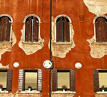 Aged Facade - Venice by Marilyn Harris