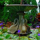Fountain by voir