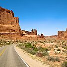 desert road by russtokyo