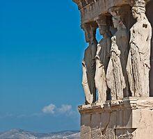 Erechtheum, Acropolis of Athens (II) by Konstantinos Arvanitopoulos