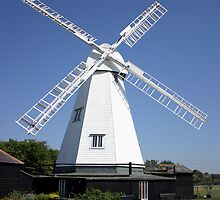 White Windmill by John Gaffen