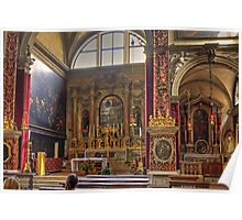 Inside the Basilica di San Marco Poster