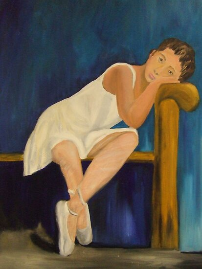 Resting Ballerina by Susan Brown