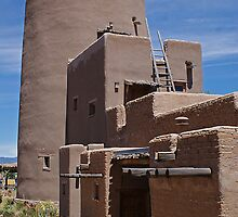 Adobe Tower by ☼Laughing Bones☾