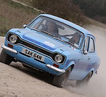 Escort Mk.1 - Wolds Historic Rally 2011 by Nick Barker