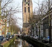 The Oude Kerk ( Old Church) by Patricia127