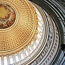 Rotunda of the United States Capitol by Cora Wandel