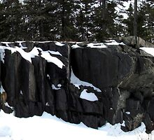 Rock Panel - Pukaskwa National Park - Heron Bay Ontario Canada by loralea