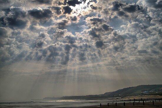 Sunrise at Sandsend by Irene  Burdell