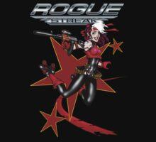 2011 Derby Rogue Streak W Logo RED STAR EDITION T-Shirt