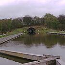 Forth & Clyde Canal to Tunnel - Falkirk Wheel by Dawn (Paris) Gillies