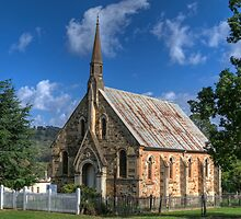 St Paul's Presbyterian Church, Hill End, NSW  by Adrian Paul