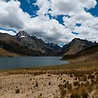 Mountain Lake, Peru by Chid Gilovitz