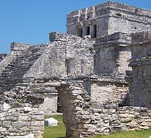 Mayan Temple, Tulum, Mexico by John Carpenter