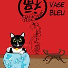 Le Vase Bleu (the blue vase) by 2smartcats