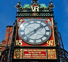 Queen Victoria Diamond Jubilee Clock by davyrabbit