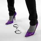 Purple Heels by Steve Small