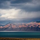 Sunset at Pyramid Lake by homendn