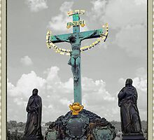 † ❤ † ❤ † 17th Century Statue Of The Crucifixion On Charles Bridge Prague† ❤ † ❤ †   by ✿✿ Bonita ✿✿ ђєℓℓσ